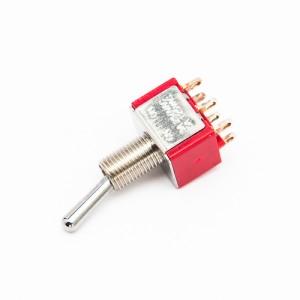 Deviatore ON - ON - Deviatori miniatura a leva da pannello 2 vie