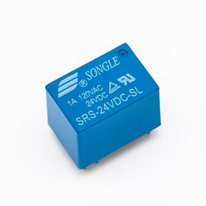 1 scambio-1A 24Vdc -- SRS-24VDC-SL - Relè per circuito stampato