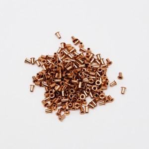 through hole PCB Rivets  - Rivetti per fori metallizzati 1.0/1.5mm-250 pezzi