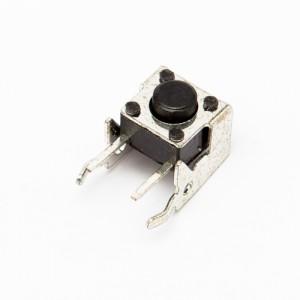 Altezza 3,85mm - Pulsanti da circuito stampato 4pin 6x6mm 90°