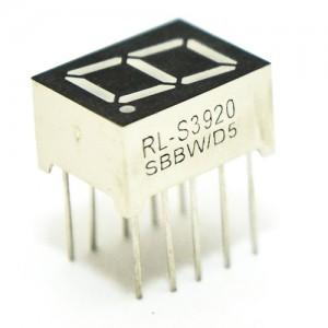 9.9mm Rosso - RL-S3920SBBW - Anodo Comune - Display 7 segmenti