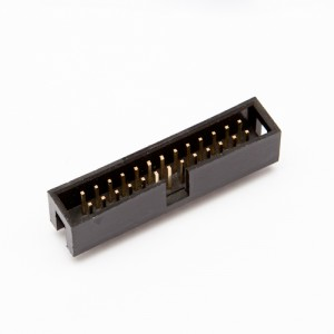 Connettore IDC maschio basso profilo per cavo piatto flat 26 poli
