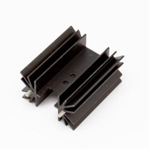 Altezza 50mm - Dissipatori a montaggio verticale con pin