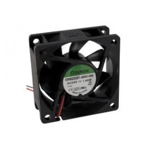 Ventilatori 24VDC su bronzine 80x80x25