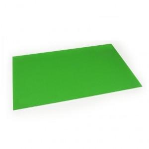 Lastra in plastica per incisione CNC e Laser - 300x200mm - Bianco/Verde