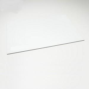 Lastra in plastica per incisione CNC e Laser - 300x200mm -  Nero/Bianco