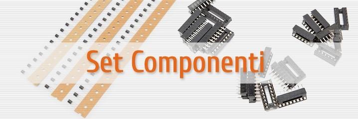 Kit componenti elettronici