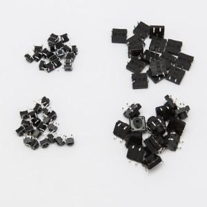 Set Pulsanti da circuito stampato - 70 pezzi