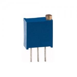 3296W-25giri-10Kohm - Trimmer Cermet verticale con regolazione in testa