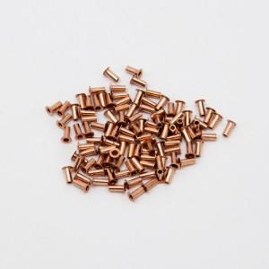 Rivetti per fori metallizzati 0.7/1.0mm-100 pezzi - through hole Rivets PCB