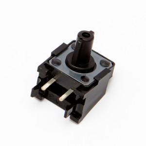 Altezza 12mm - Pulsanti da circuito stampato 4pin 12x12mm 90°