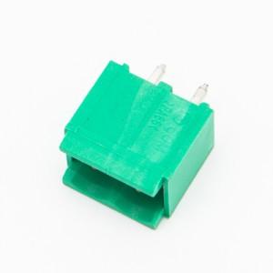 2 Poli - Connettori Maschi polarizzati diritti - passo 5mm