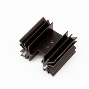 Altezza 38mm - Dissipatori a montaggio verticale con pin