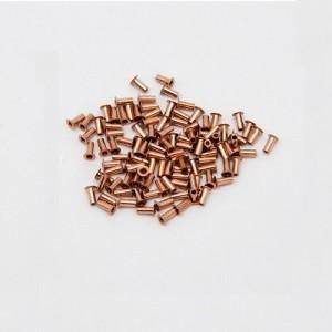 Rivetti per fori metallizzati 0.6/0.8mm-100 pezzi - through hole Rivets PCB